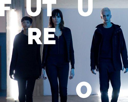 napapijri新款未来主义服装系列ze-knit亮相米兰设计周
