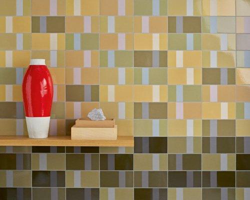diarama瓷砖系列 针对纯色的多样化研究