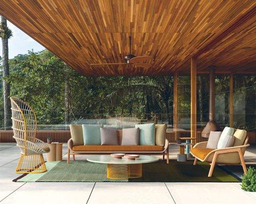 kettal新款柳条户外家具 当传统技术遭遇现代形态
