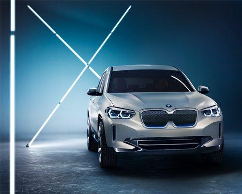 宝马发布首款纯电动SAV iX3概念车