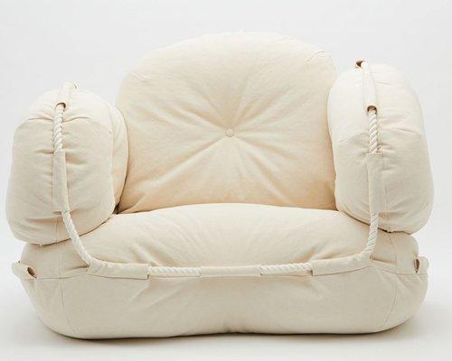 ABCD字母模块沙发 柔软舒适易组合