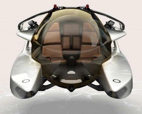 阿斯顿·马丁与Triton Submarines合作设计的海王星潜水艇投入生产