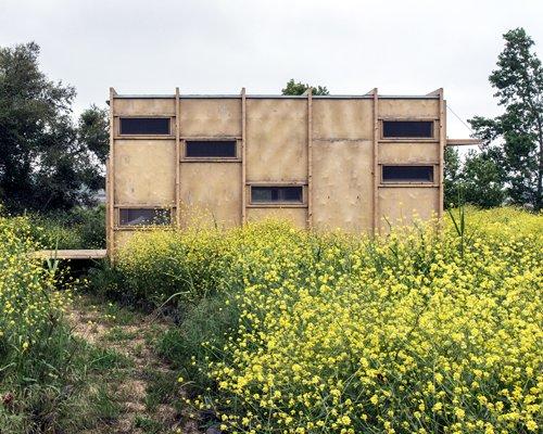 完全回归自然的边境小屋