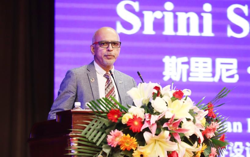 世界设计组织(WDO)候任主席斯里尼•斯里尼瓦桑演讲