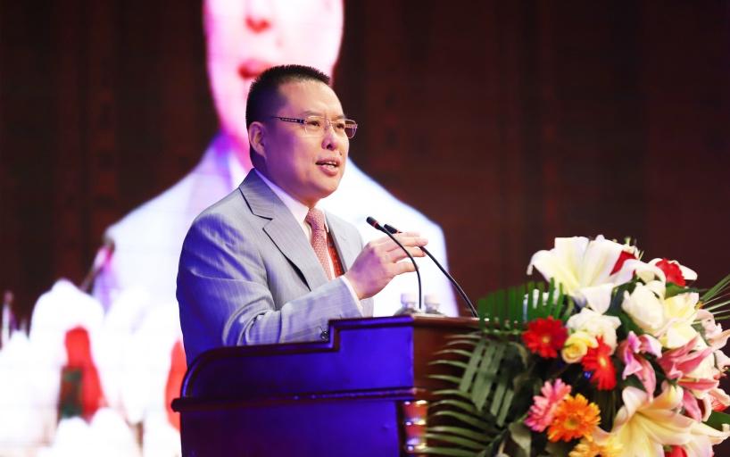 中国宏泰发展董事局主席王建军致辞