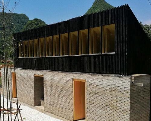 奥斯陆建筑与设计学院楼纳国际建造课程闭营仪式 暨楼纳建筑师书店落成典礼