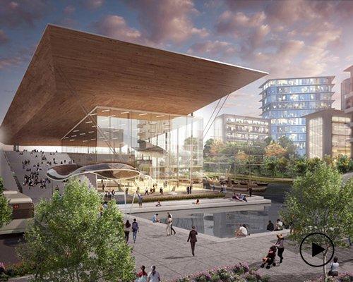 瓜亚基尔新城规划 可持续城市新典范