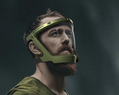 革命性的深海潜水面具