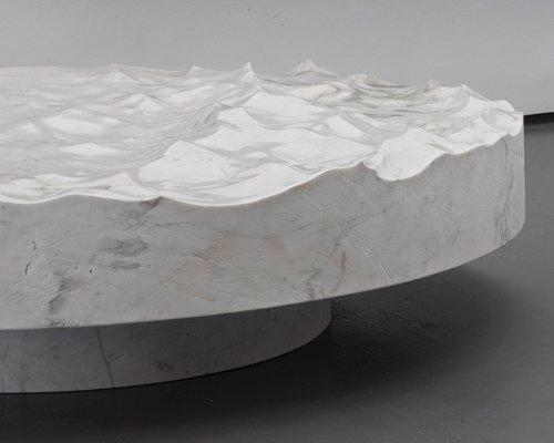 mathieu lehanneur雕塑家具新作 冻结海洋记忆