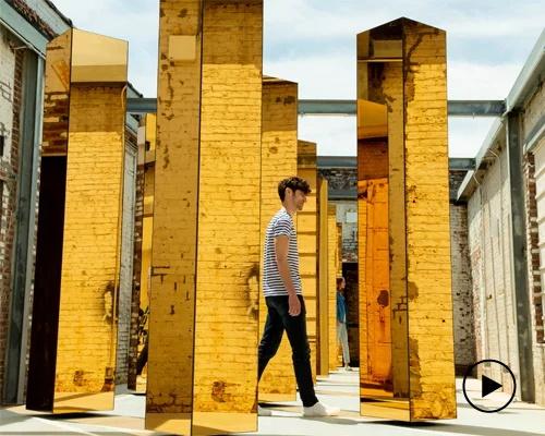 UVA和MINI共同打造的金色创意空间