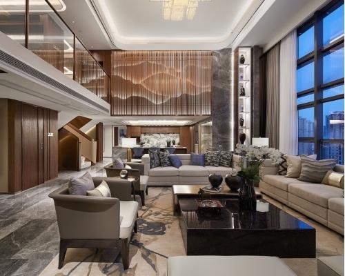 C.H.Y室内设计|福州泰禾金府天境入户大堂及样板间设计