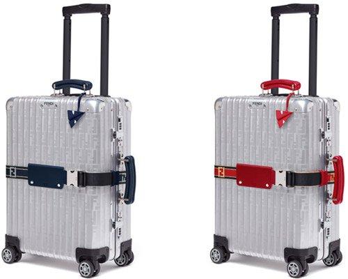 rimowa联手FENDI再推高端联名限量行李箱