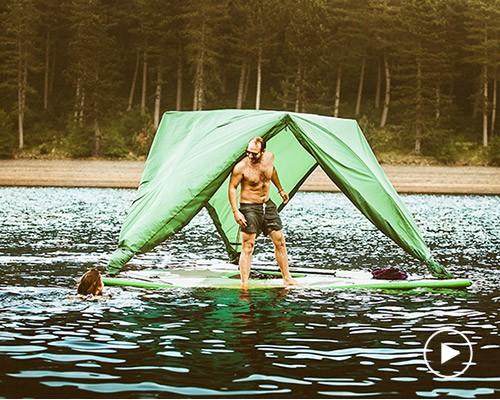 世界首个三元素帐篷 征服陆地、大海、天空