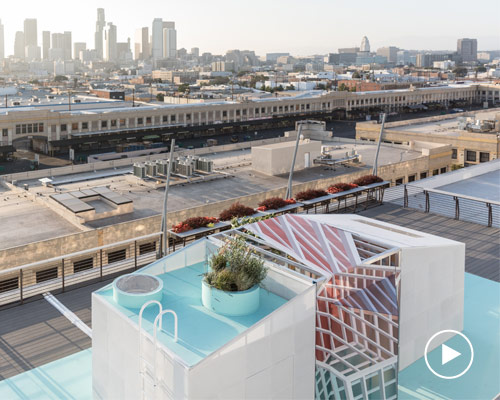 MINI LIVING城市小屋 亮相洛杉矶设计节