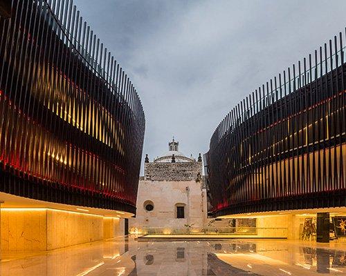 墨西哥音乐宫 有力衬托周边历史建筑