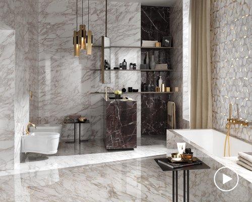 通用大理石纹瓷砖 尽显奢华之美