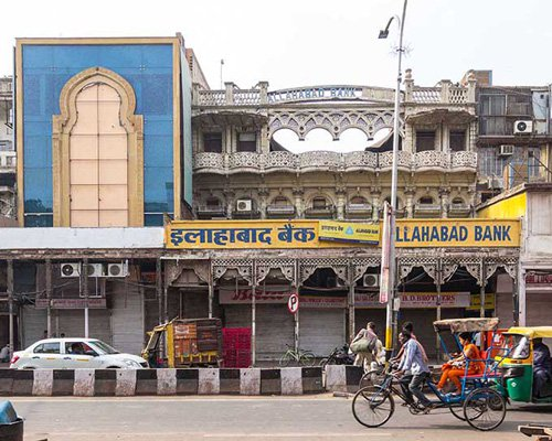 有着多元化城市结构的德里