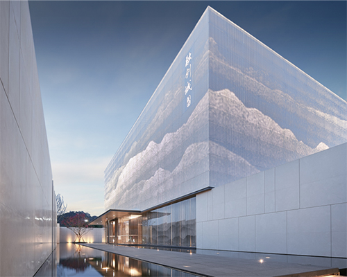 六艺源×融创:升华都市生活的售楼处设计!