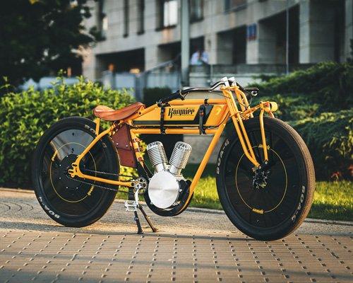 kosynier让您拥有100年前的电动摩托车