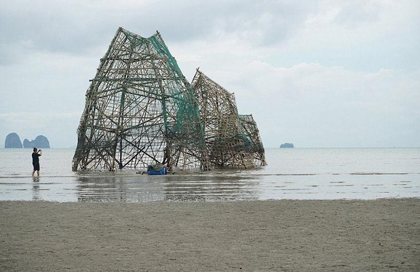 """泰国6米高的""""鬼岛"""""""