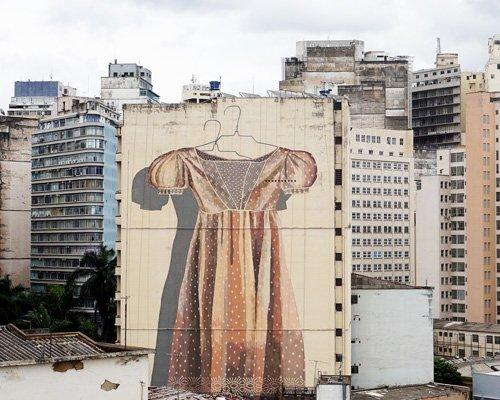 街头艺术家hyuro用巨型壁画覆盖世界
