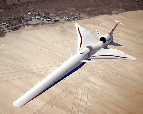 X-59静音超音速喷气式飞机