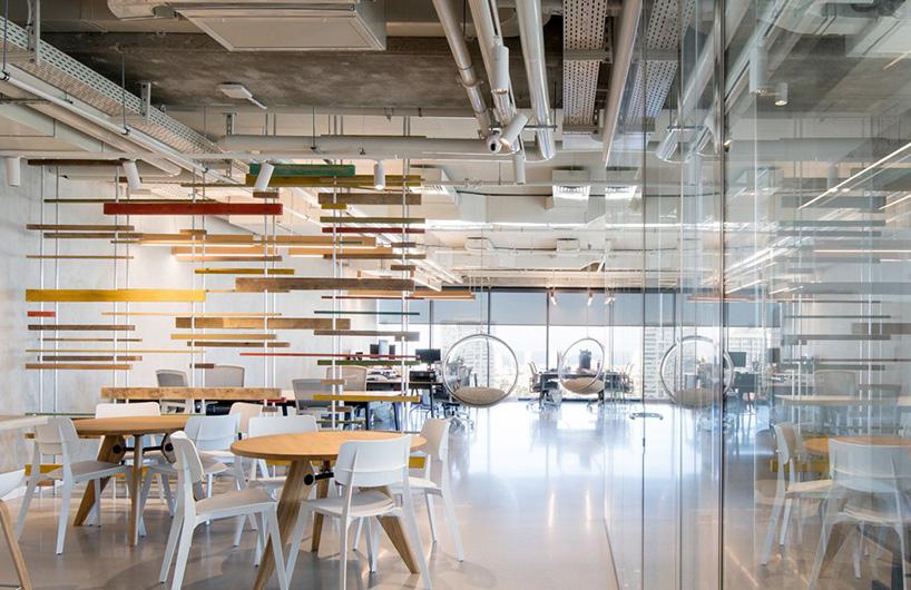 灵感源自城市天际线的办公空间设计
