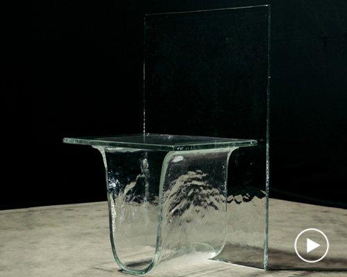 nendo与wonderglass联手打造重力生成玻璃家具