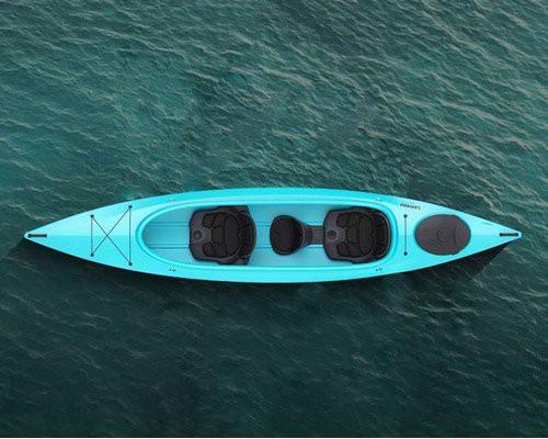 专为初学者设计的皮划艇