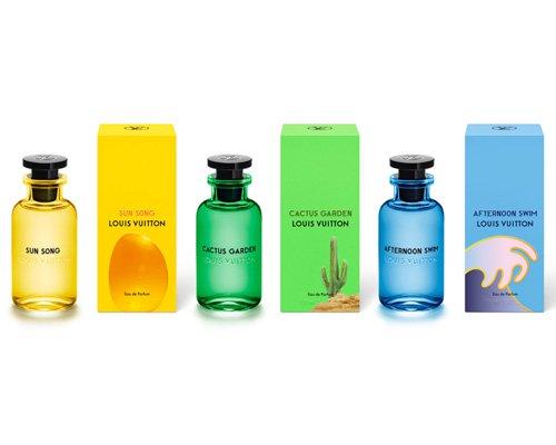 alex israel为LV新款中性香氛打造包装与香水盒