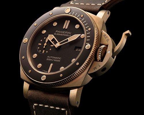 沛纳海潜行系列bronzo腕表 见证岁月变迁