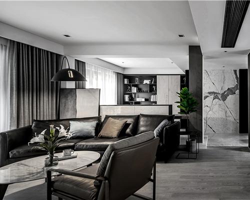 《空间榜样》|一野设计,以黑白至简勾勒温暖之家