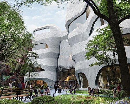 美国自然历史博物馆扩建项目正式动工
