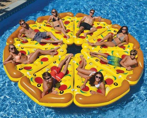热辣披萨角 泳池玩具新王者