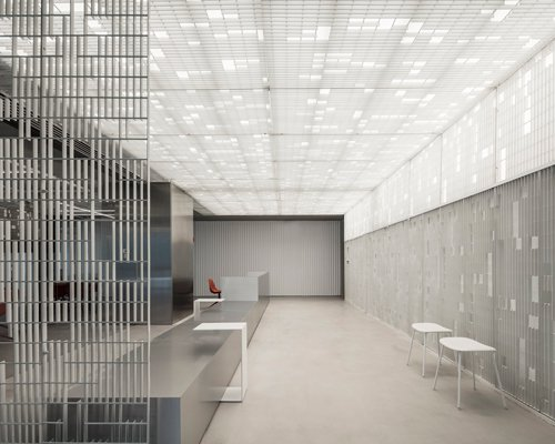 巧用工业材料打造科技感现代办公室
