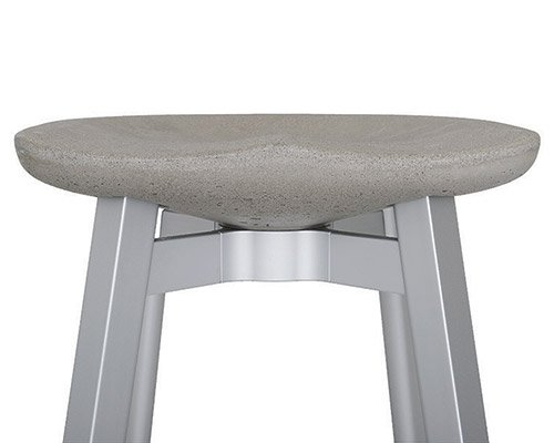 nendo推出升级款生态混凝土座椅