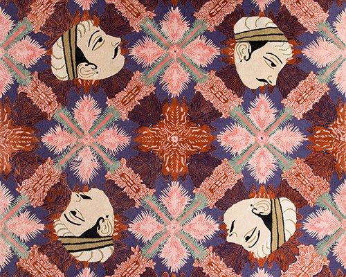 灵感源自斋普尔的现代风格手工地毯
