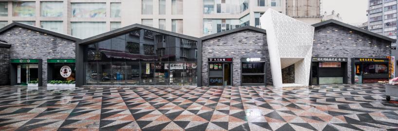 10 步行街全景图,The Panorama of Nanheng Pedestrian Street