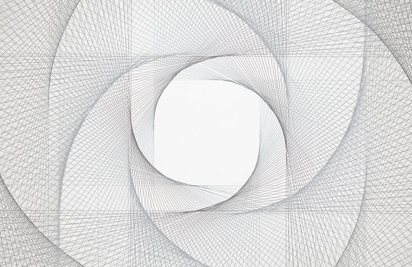 简单直线组成的复杂空间装置CORD/CODE