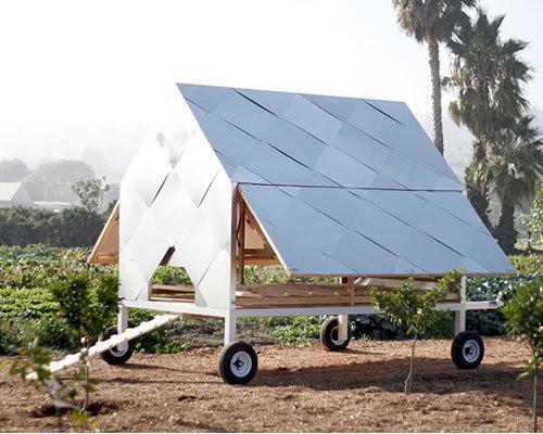 太阳能拖车鸡舍 散养新选择