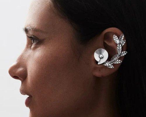 回收金属制作的个性化艺术蓝牙耳机