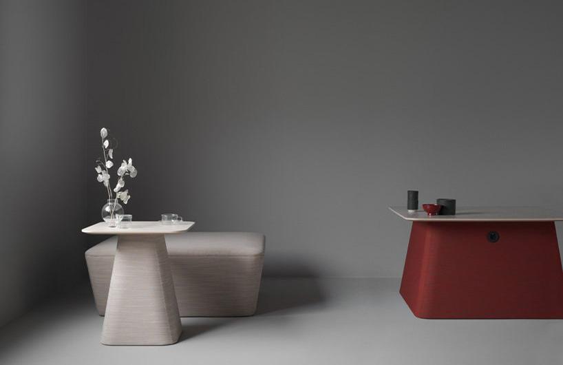 参考日式岩石园的简约家具