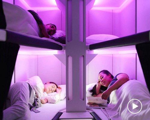 新西兰航空有望推出经济舱卧铺服务
