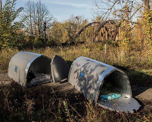 无家可归者临时小屋 保温耐火更安全