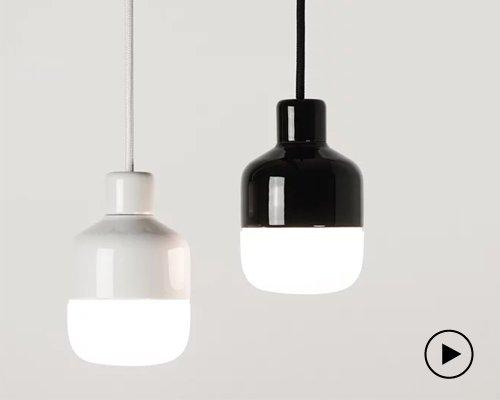 超安全防溅水陶瓷吊灯