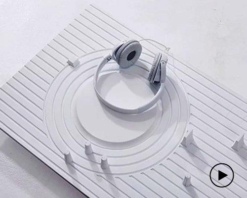 形似日式禅意庭院的简化版DJ台