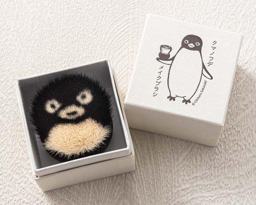 超可爱suica企鹅变身手工化妆刷