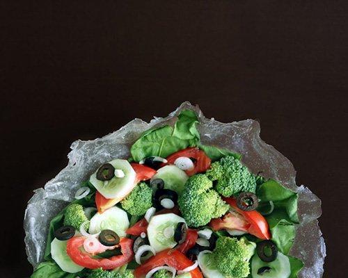 木薯变身食品包装 方便实用可降解