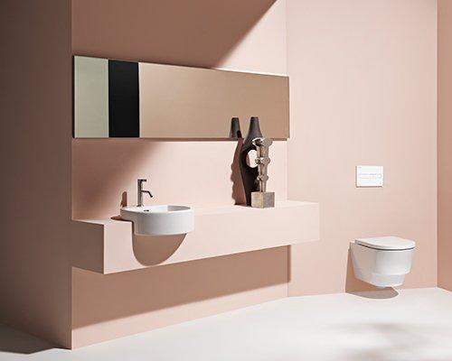 LAUFEN概念座厕 污水源头分离不再难