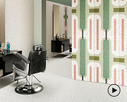 CEDIT - ceramiche d'italia再推合作款装饰瓷砖chimera